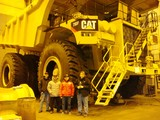 Motter Race Team with Caterpillar Mining Truck (1).JPG