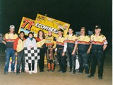 14-Stevie Smith win in 1995 with crew.jpg