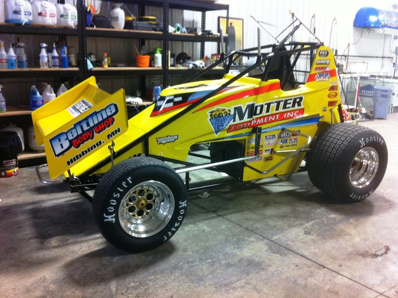 Decaling At Shadow Graphics Motter Motorsports World Of