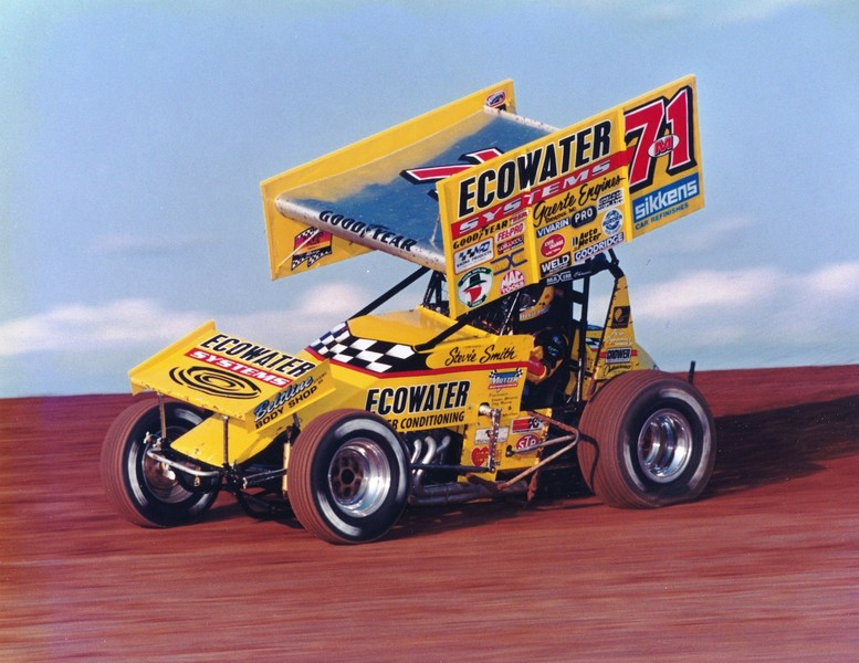 1990 S Motter Motorsports World Of Outlaws Sprint Car Racing Team